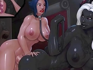 Stunning shemale chicks fuck in all kinds of horny ways