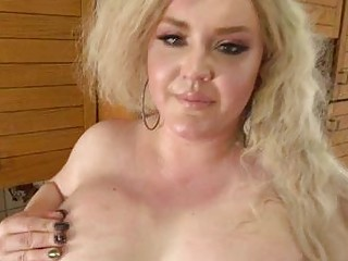 Busty BBW Shemale Blonde