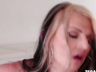 TS Chloe Wilcox Gets Buttfucked